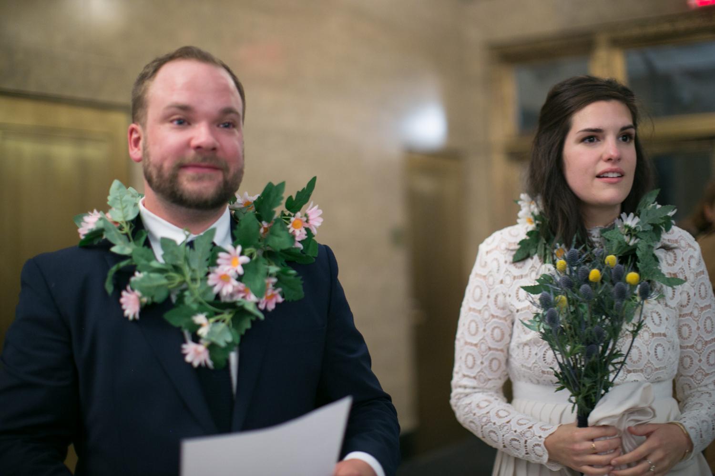 Wedding elopement vows