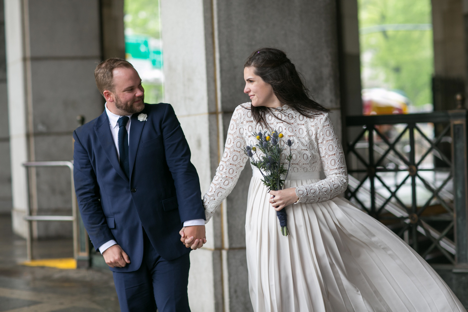 Bride and groom eloped in New York City