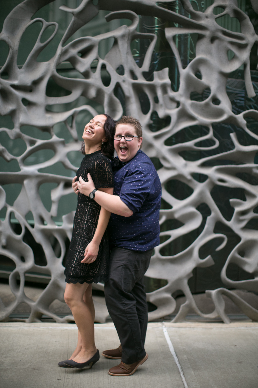 New York City couple celebrates anniversary
