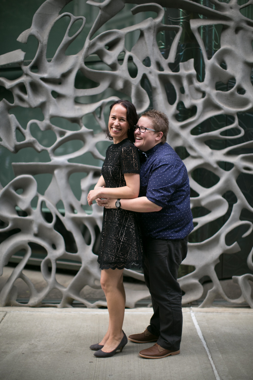 New York City couple celebrates anniversary with photoshoot