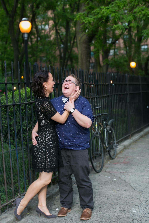 Photography of NYC couple