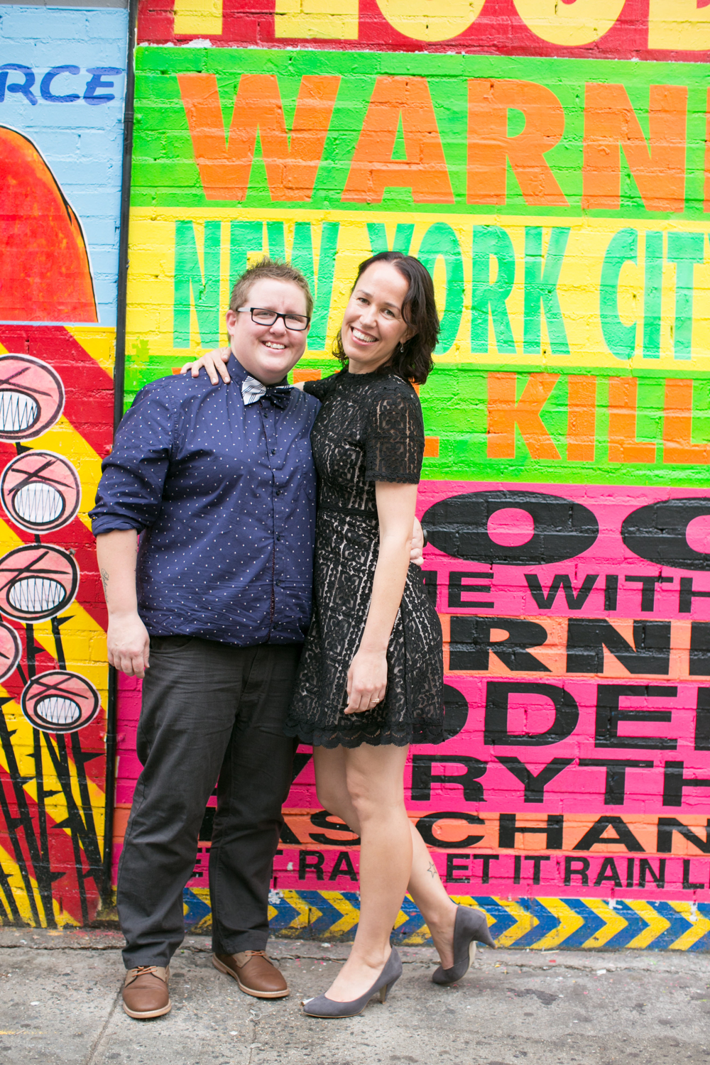Couple celebrates anniversary together in NYC