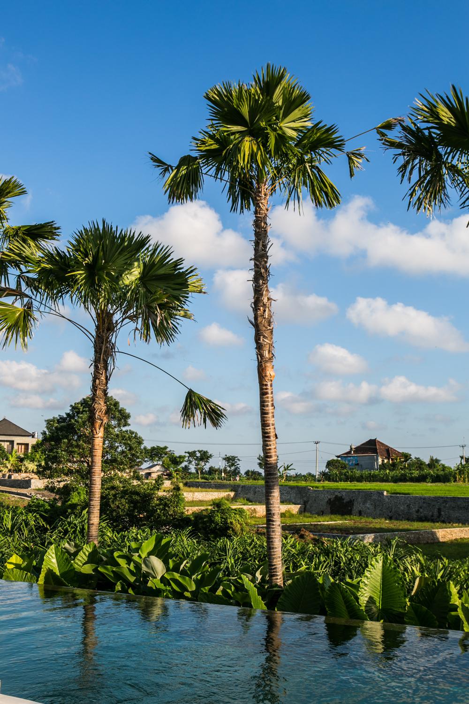 Scenery of Bali destination wedding location
