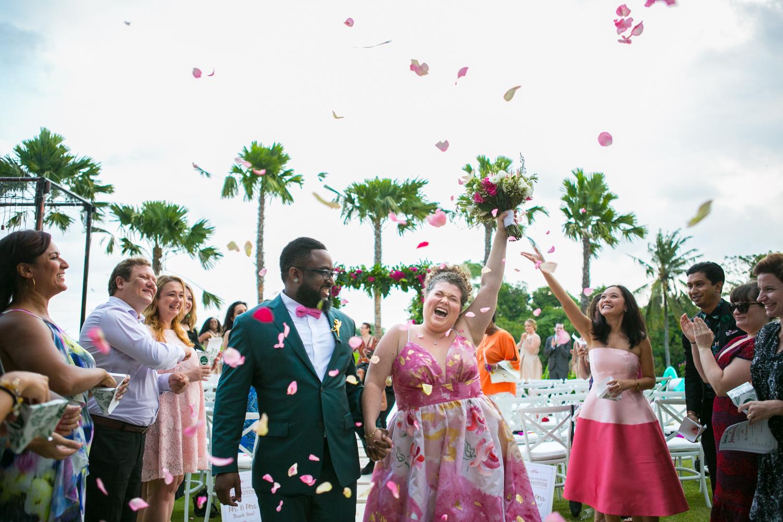 Bali wedding celebration