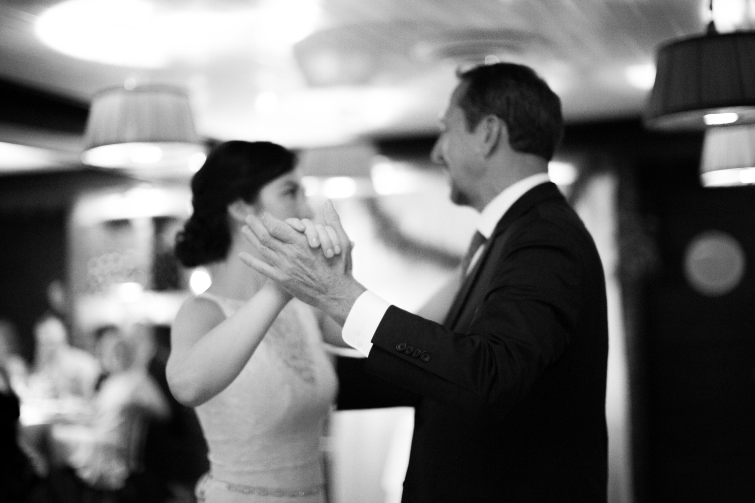 Father daughter dance in New York City