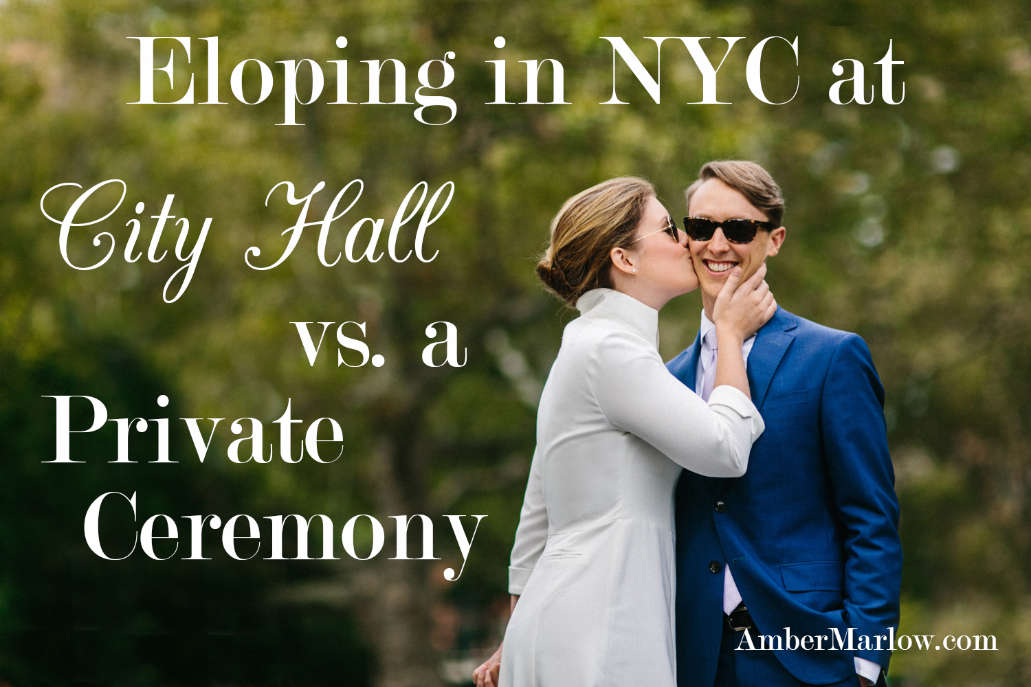 elopement advice for New York City