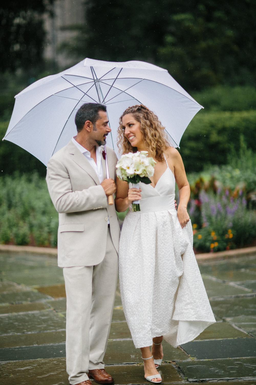 Luxury elopement in New York City