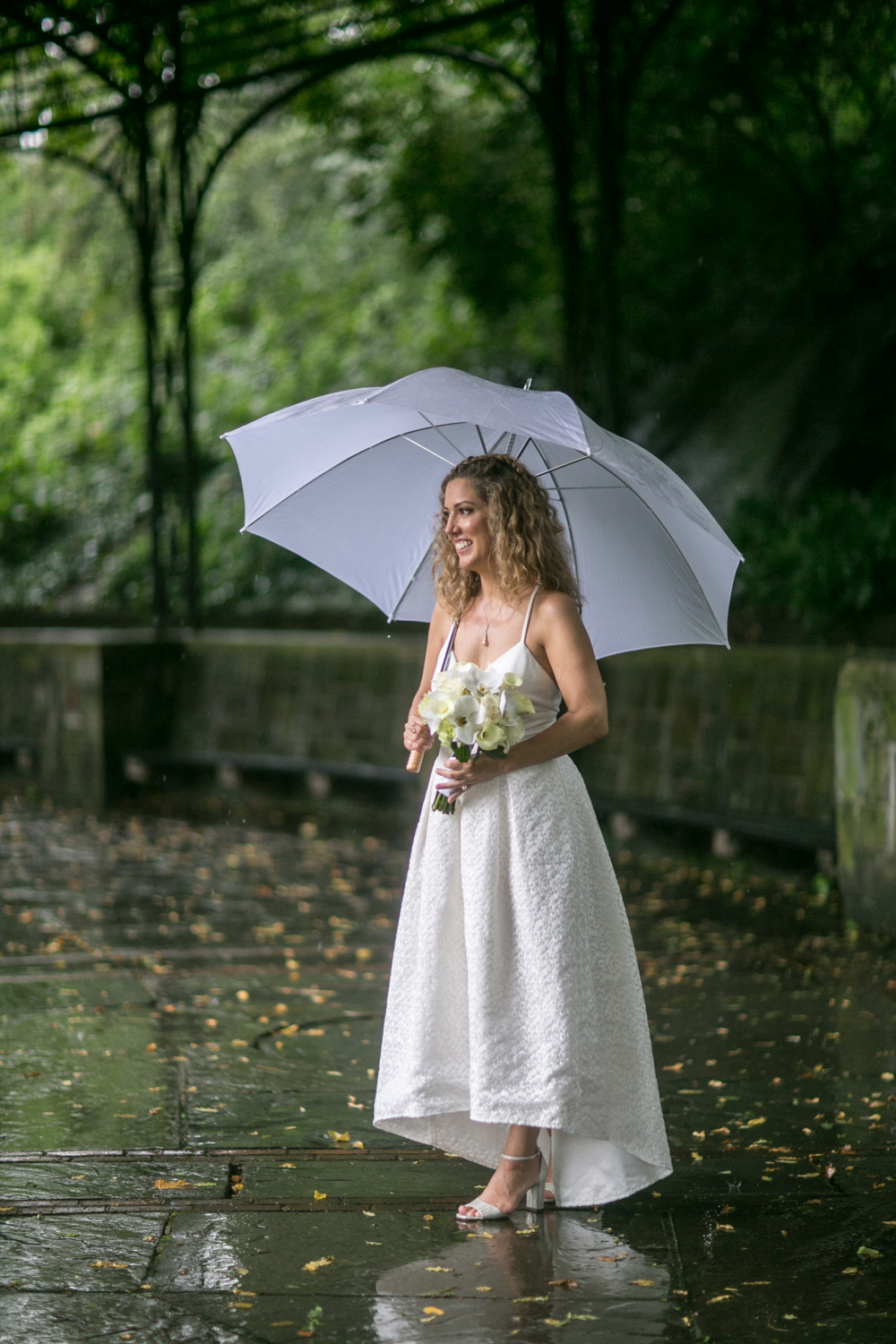 Solo Photograph of NYC bride