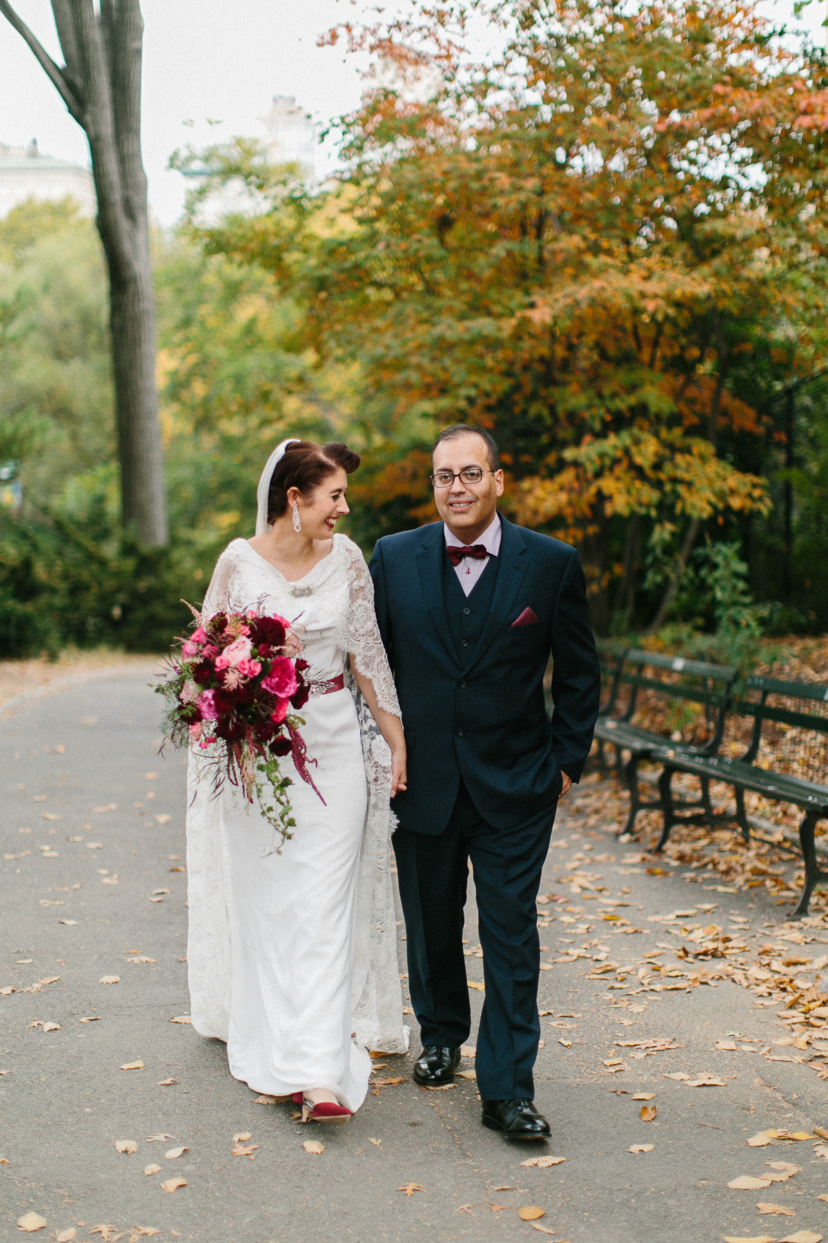 Autumn Central Park Wedding