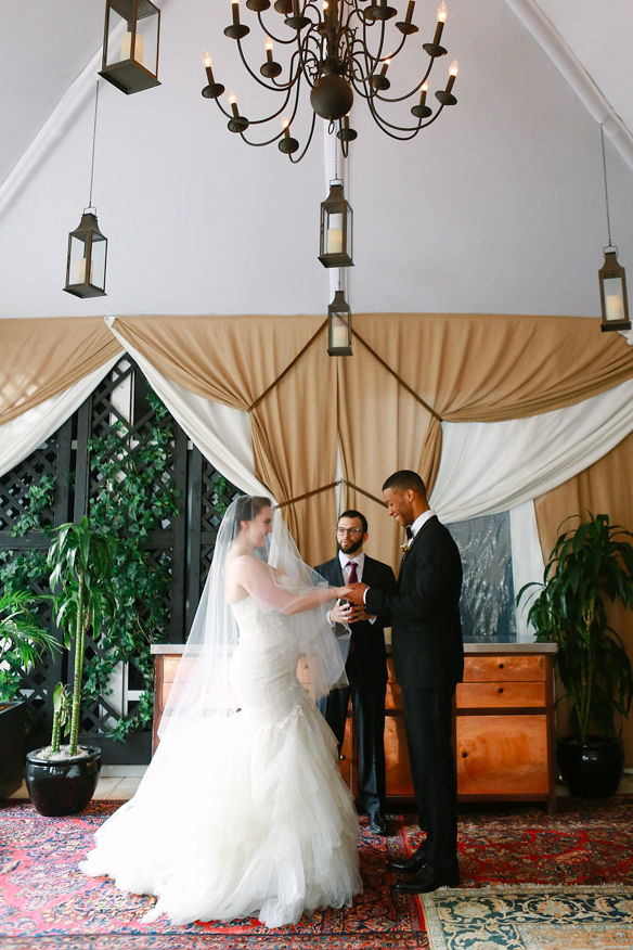 Black tie wedding. Getting married at NoMad Hotel Wedding in New York City with officiant Married by Marley.