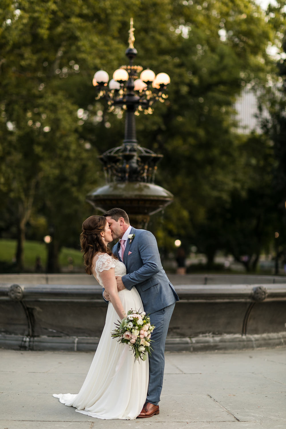 Central Park Intimate Wedding