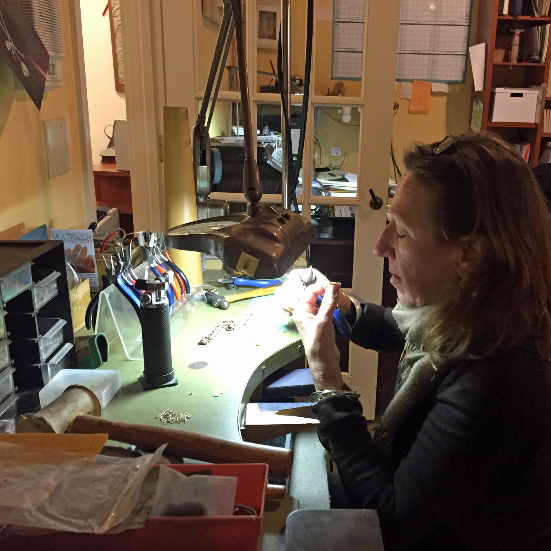 Sue at work.jpg