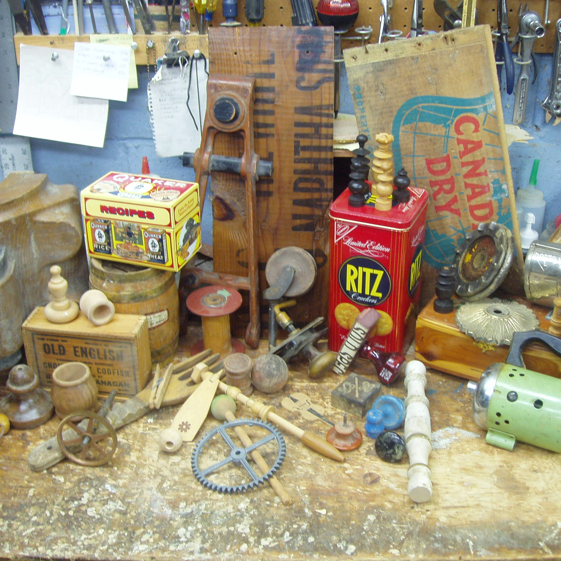 George R Wazenegger Assemblages Items.jpg