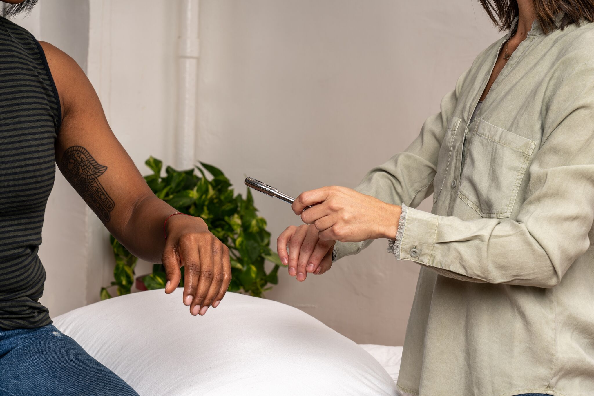 At Home Care - What happens in between your treatments is just as important as what happens during them. This is why we will often send you home with ways to continue on the path to feeling your best. Ear seeds, moxa, self gua sha, and CBD balm or magnesium oil are just a few of the tools we recommend to help further the benefits of treatment.