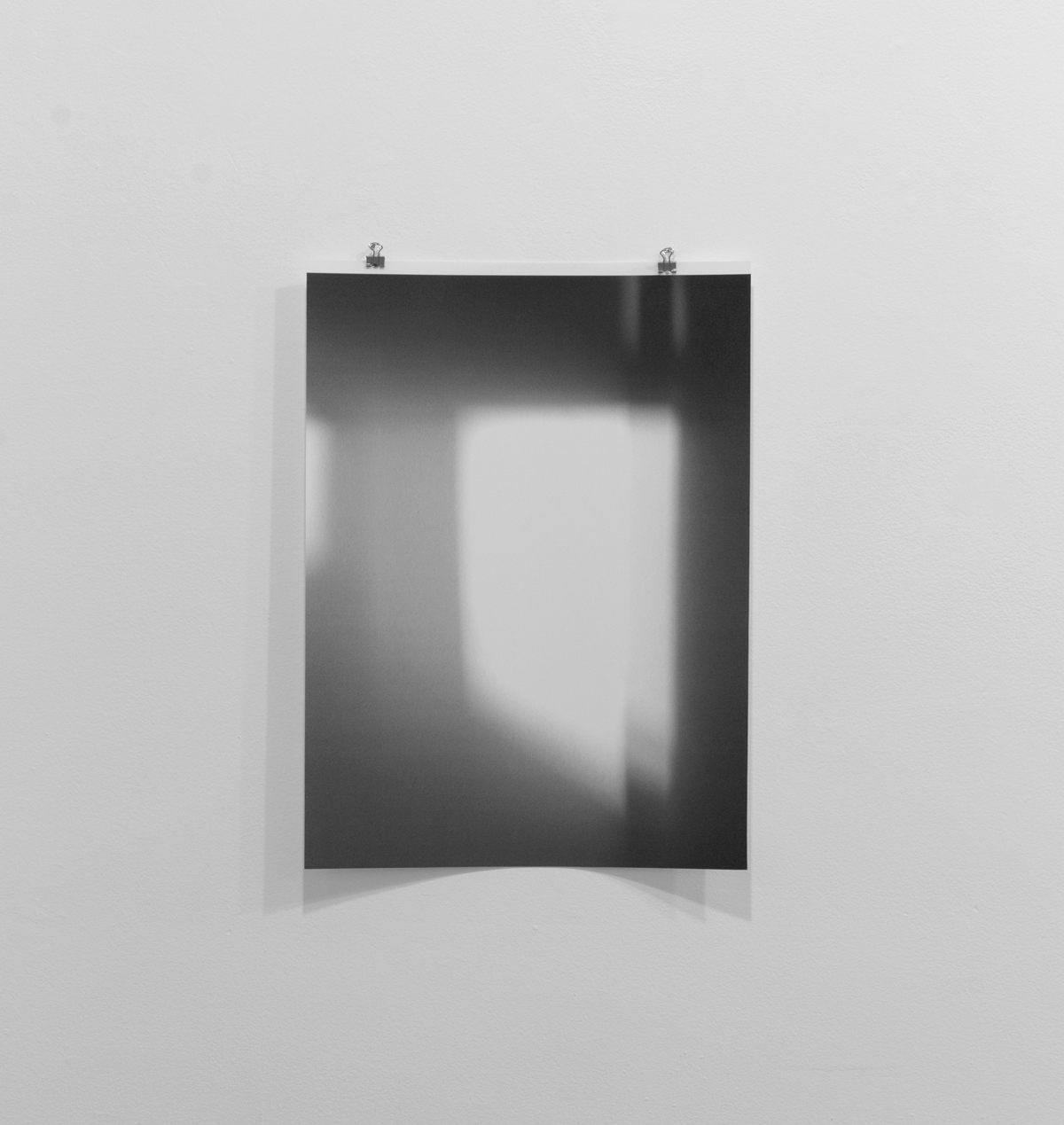 Untitled (reflected/repeated #3)  2014, mobile photograph. Archival inkjet print 12 x17 inches