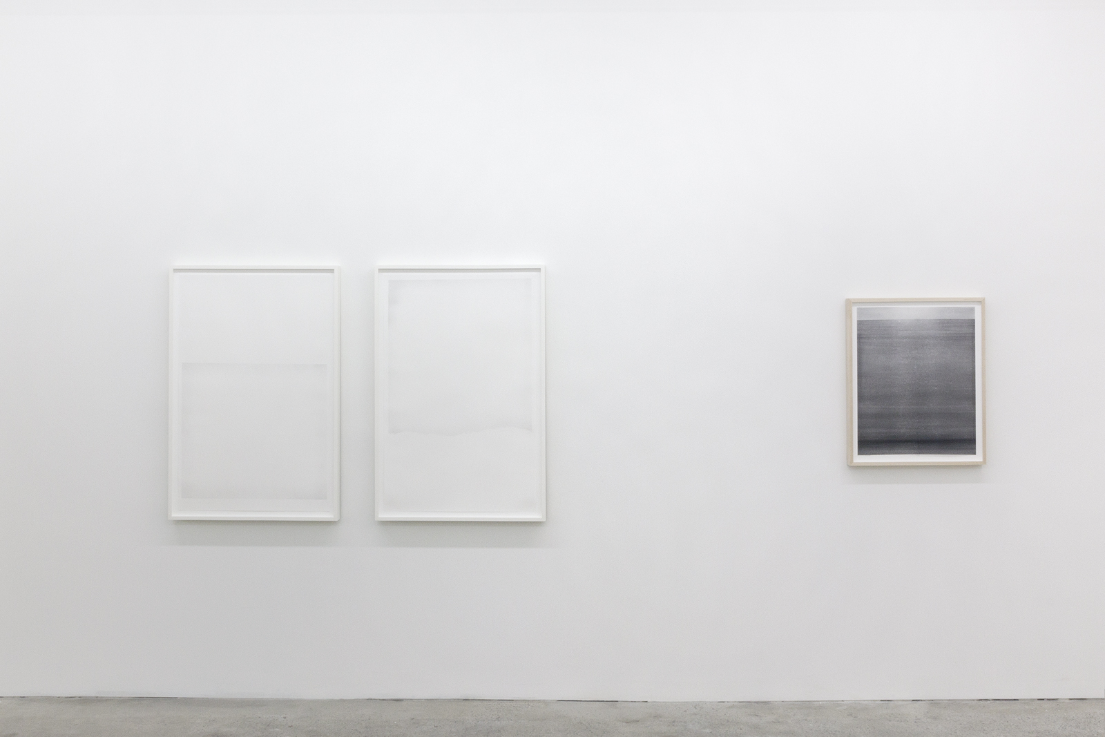 Installation View, Impermanent Horizon, Galerie Nicolas Robert