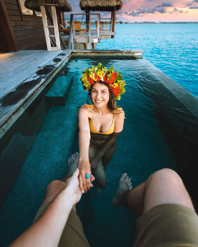 So thankful to have this mega-babe by my side through all of the ups and downs of life. We met when we were 12 or 13 years old on the first day of high school in Australia.. and 16 years later we were lucky enough to be chilling in a luxury overwater bungalow on The Islands of Tahiti. What a wild ride life is.  I can assure you that our lives are not always so glamorous, but I'll forever be thankful for amazing partnerships with companies like @fsborabora who hosted us for a few days to end our trip on the islands on the highest note 🏝We hope to be back again some day!