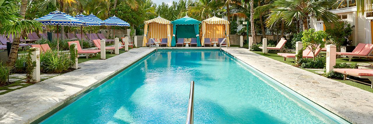 Confidante Miami Beach Pool now listed on DayAxe!