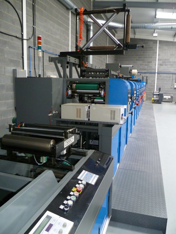 Autoflex Excel XT 340 with overhead carriage track