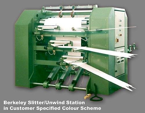 Slitter/Unwind Station