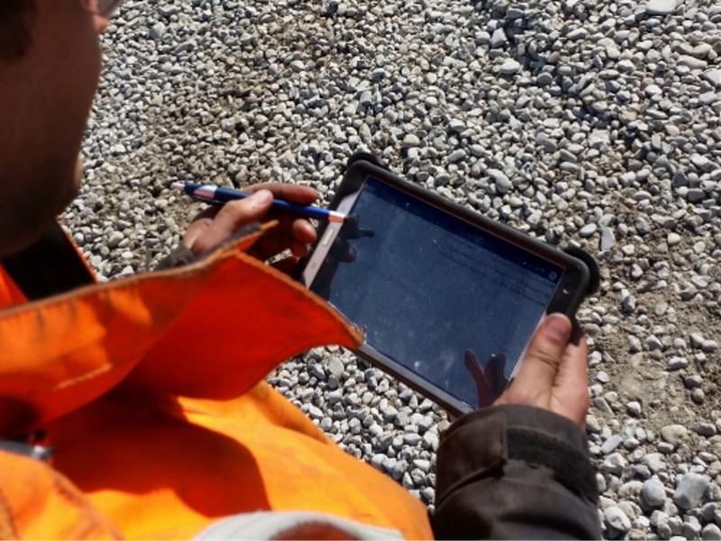 Mobile Inspections  and Reporting includes  Bridge Inspections ,  Retaining walls ,  MSQA , Construction Monitoring, and Geotechnical datalogging.     Click for more on this sector!