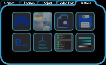 Buttons menu