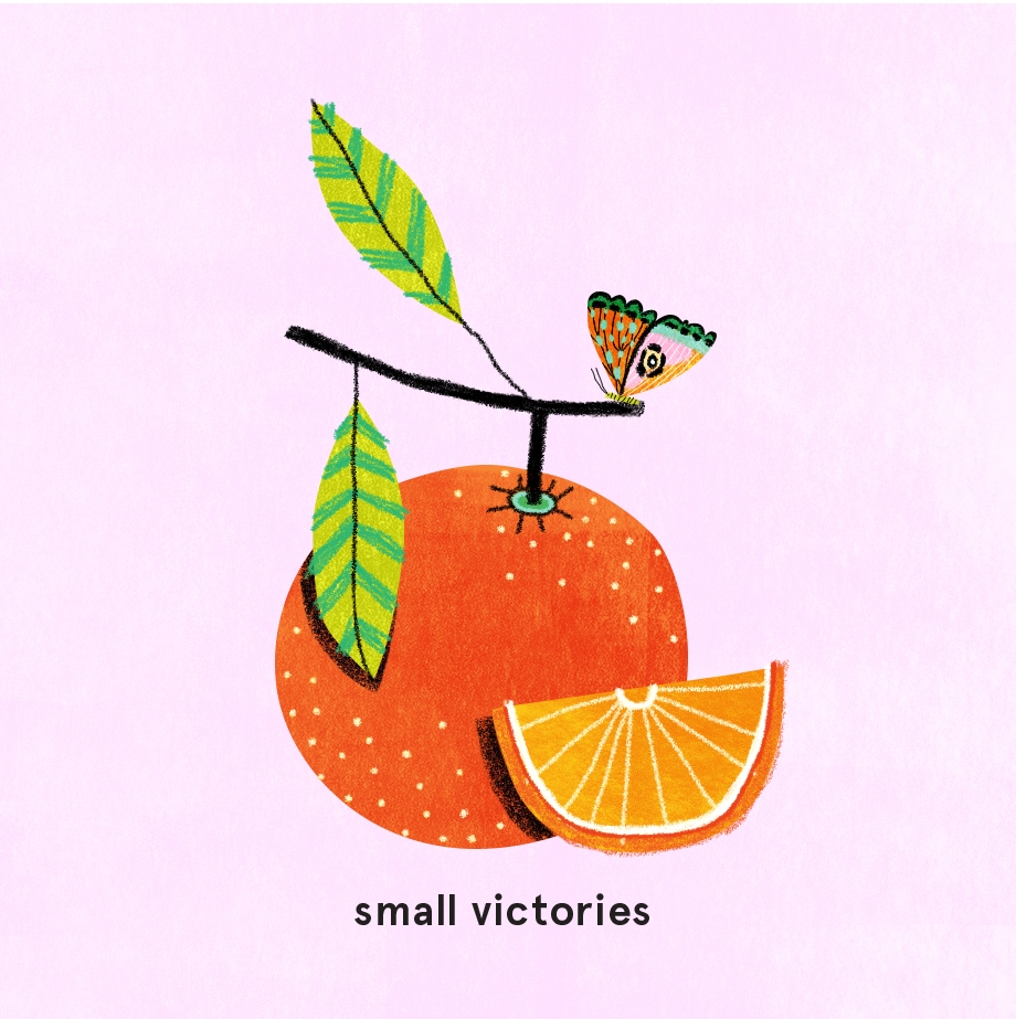 Small Victories Illustration by Melissa Lee Johnson
