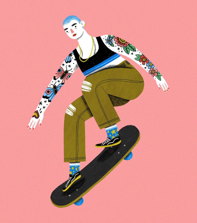 Skateboarding_Girl_MelissaLeeJohnson.jpg