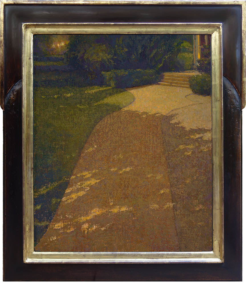 Moonshadow  /   24 x 20 inches / Mahogany frame with 22k liner