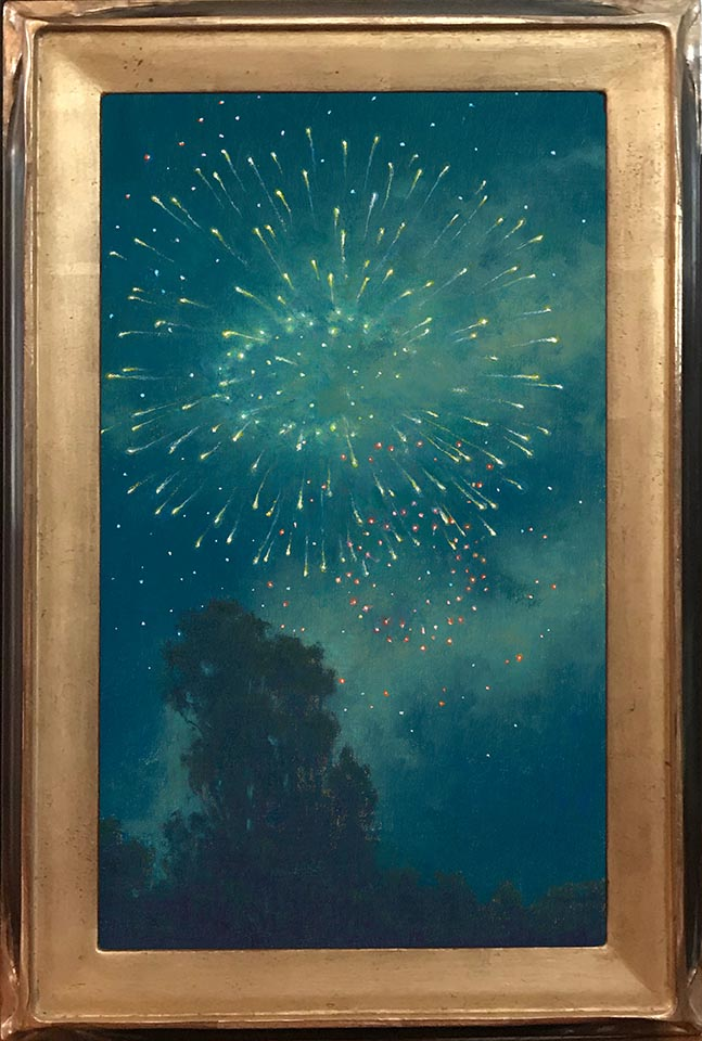 806-19-Aerial Celebration in Blue-Green 16x9.5 72 Framed.jpg