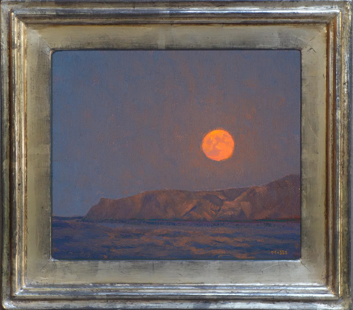 Jennifer Moses Blood Moon 6x7 72 Framed.jpg