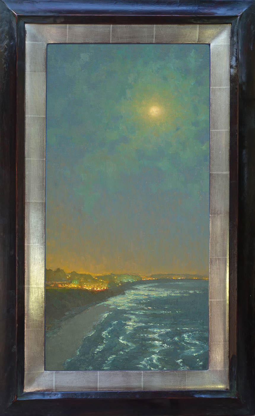 Jennifer Moses Moonlight 24x12 72 Framed.jpg