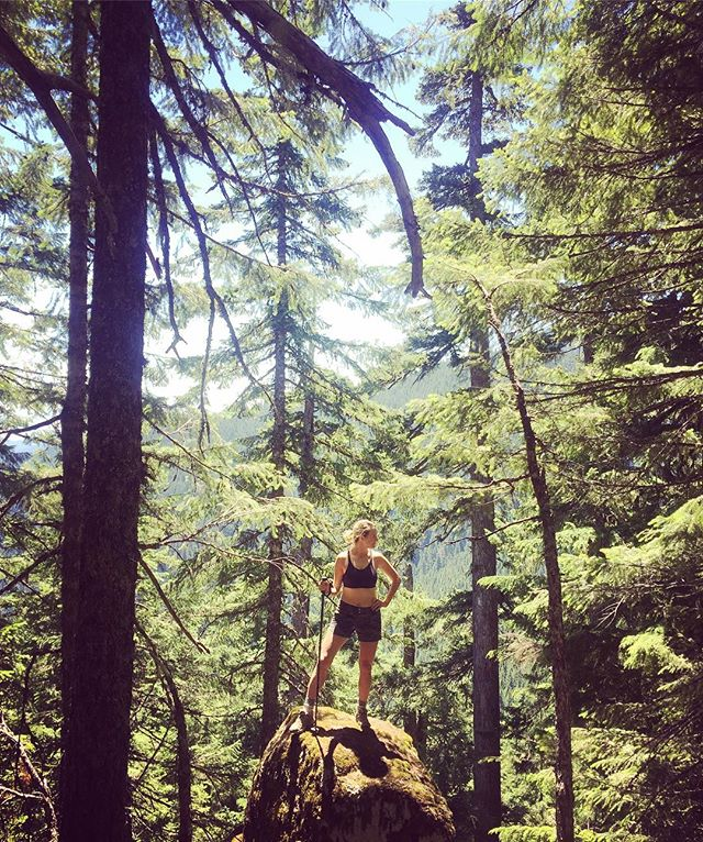 Climbing tall stuff. #hike #traveloregon #giffordpinchotforest