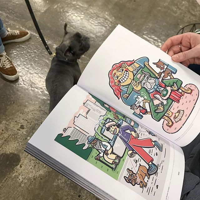 Spotted my French bulldog illo's in @readdogmag alongside Oscar the Frenchie! 🐕 . . . #illustration #womenwhodraw #illustrator #brand #photoshop #cartoon #character #characterdesign #draw #art #illustratorsoninstagram #artist #frenchbulldog #editorialillustration #dogsofinstagram #dog #frenchie
