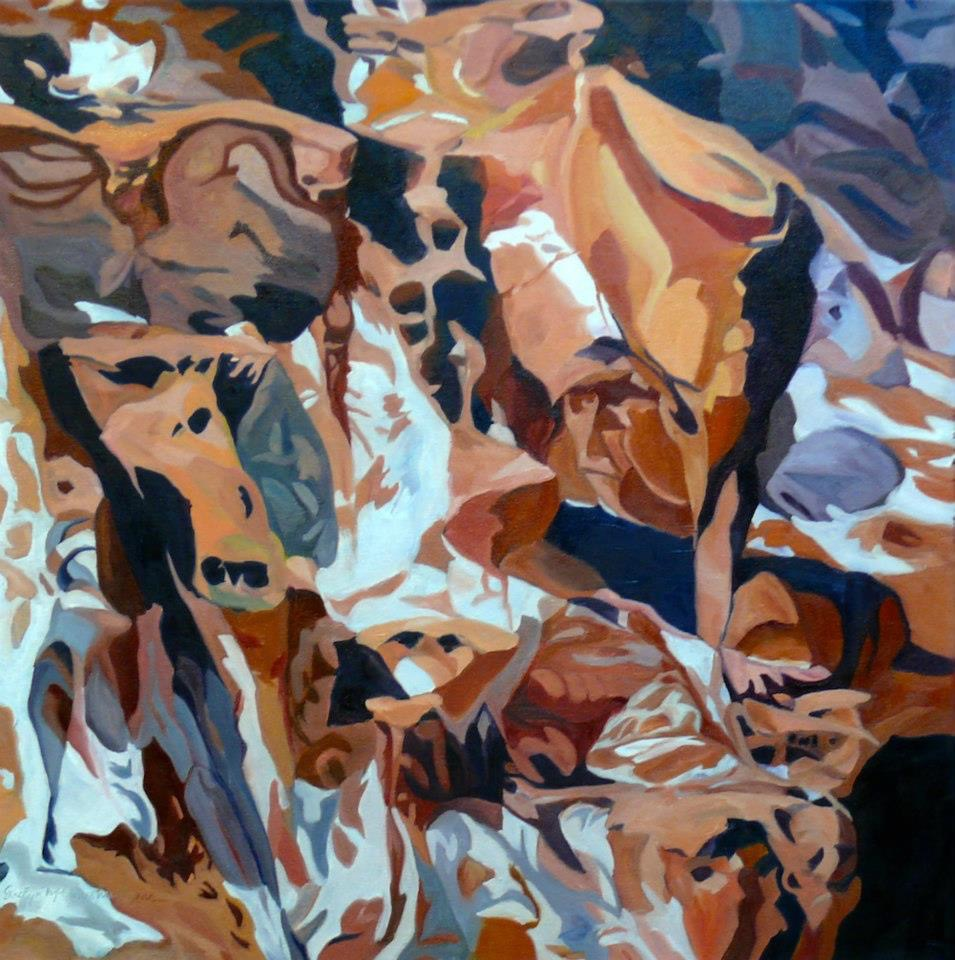 Red Rocks and Salt Zion National Park Evelyn McCorristin Peters.jpg