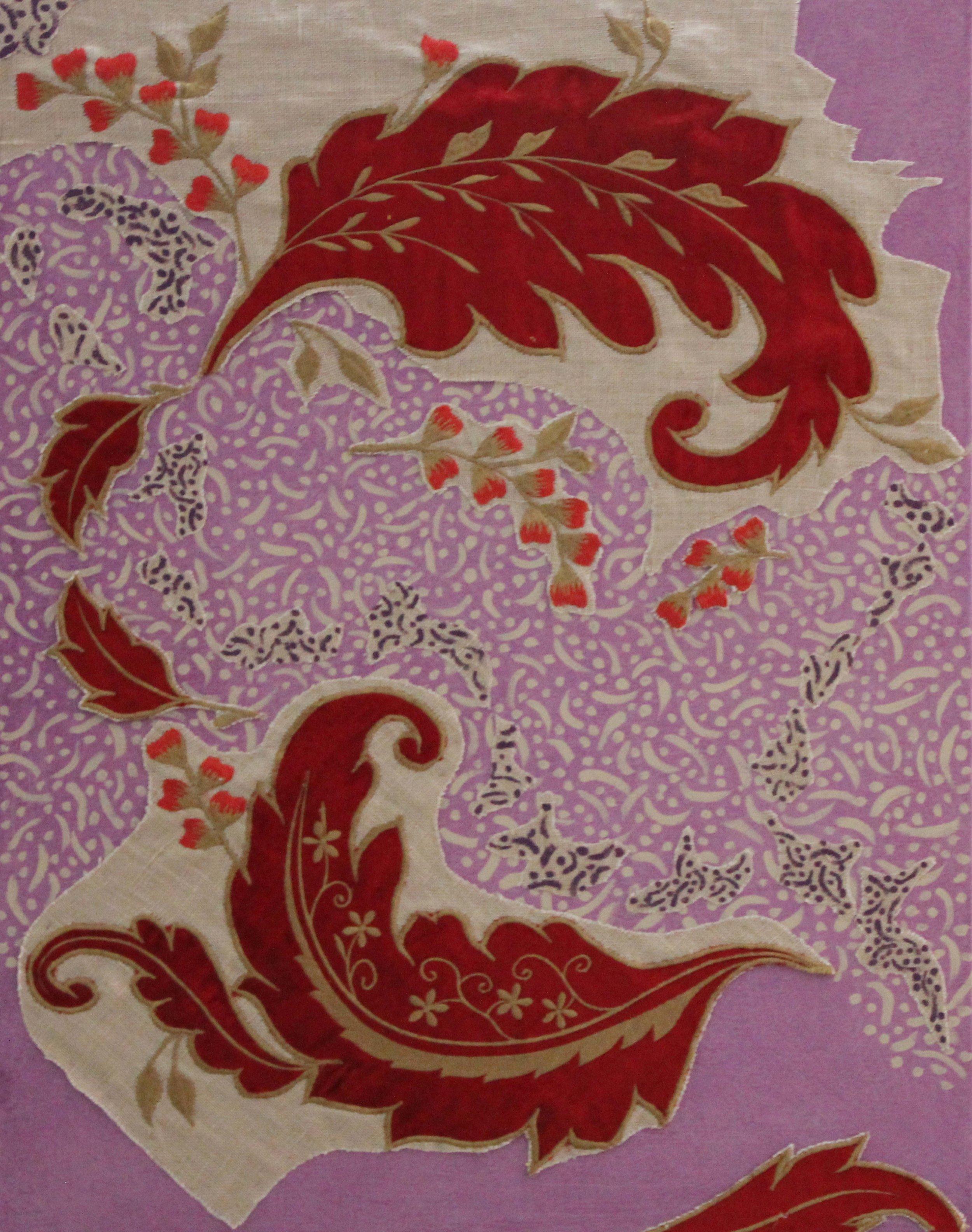 Red Velvet Floating in Violet Sky