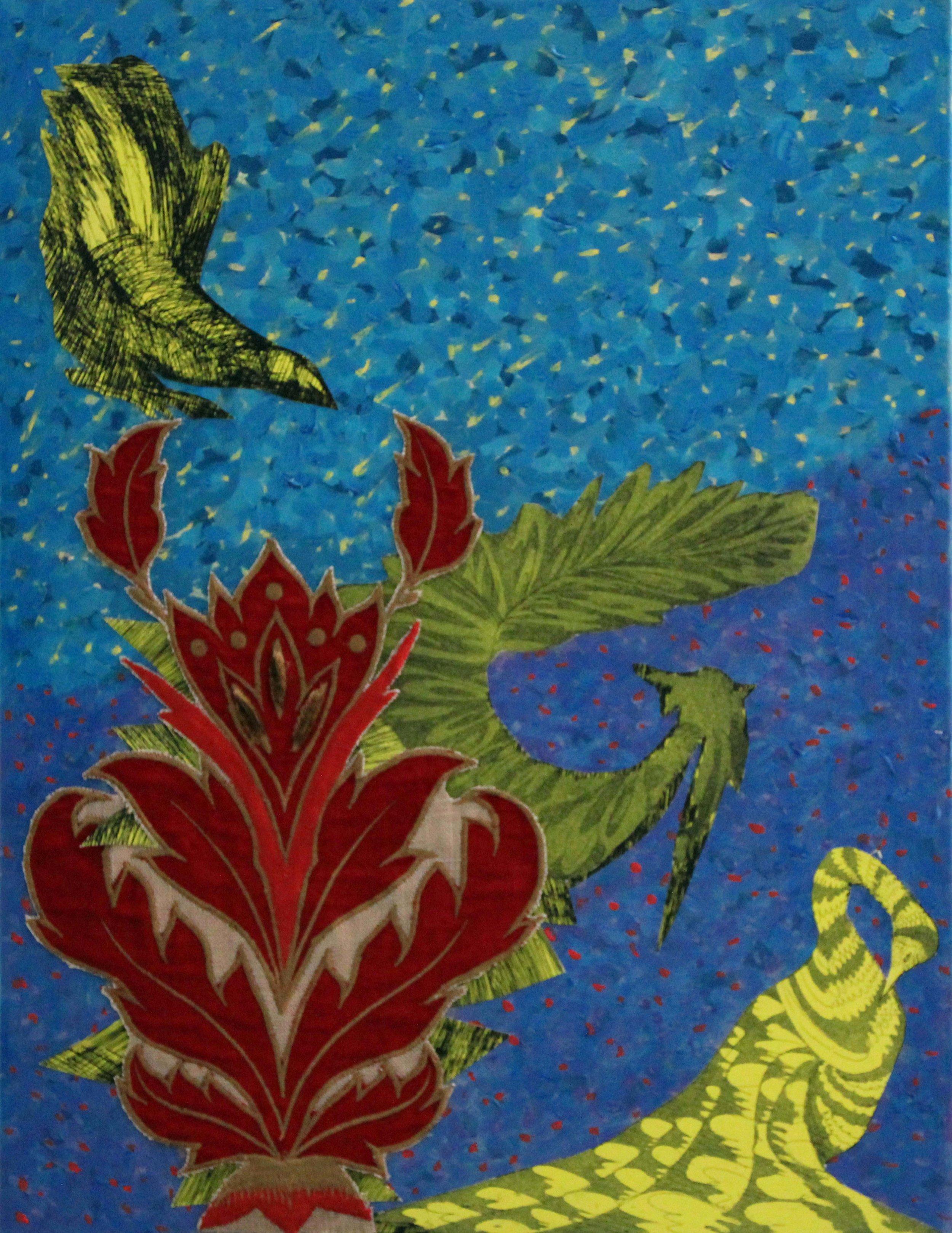 Red Velvet with Birds