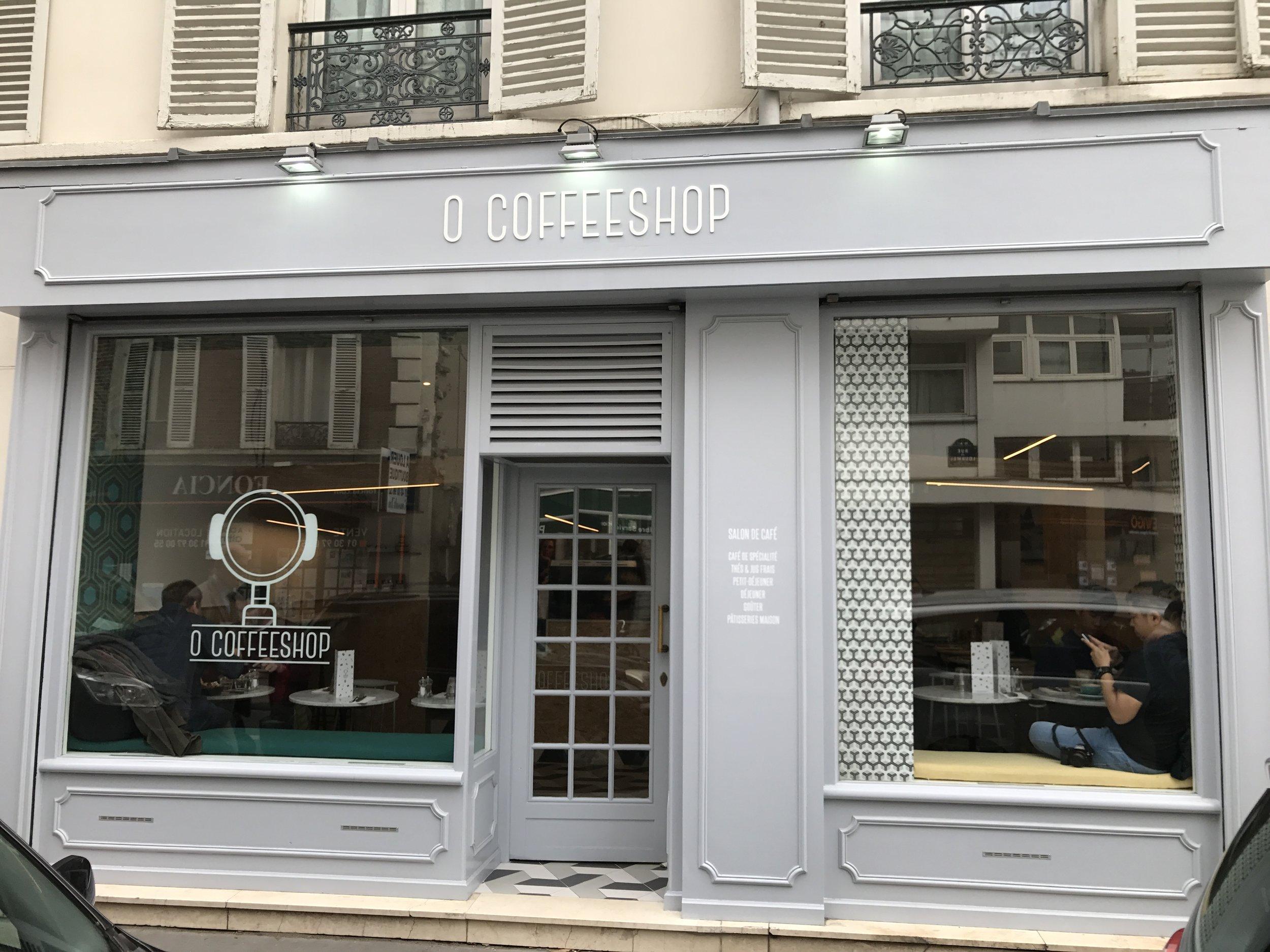 O Coffeeshop - great place!