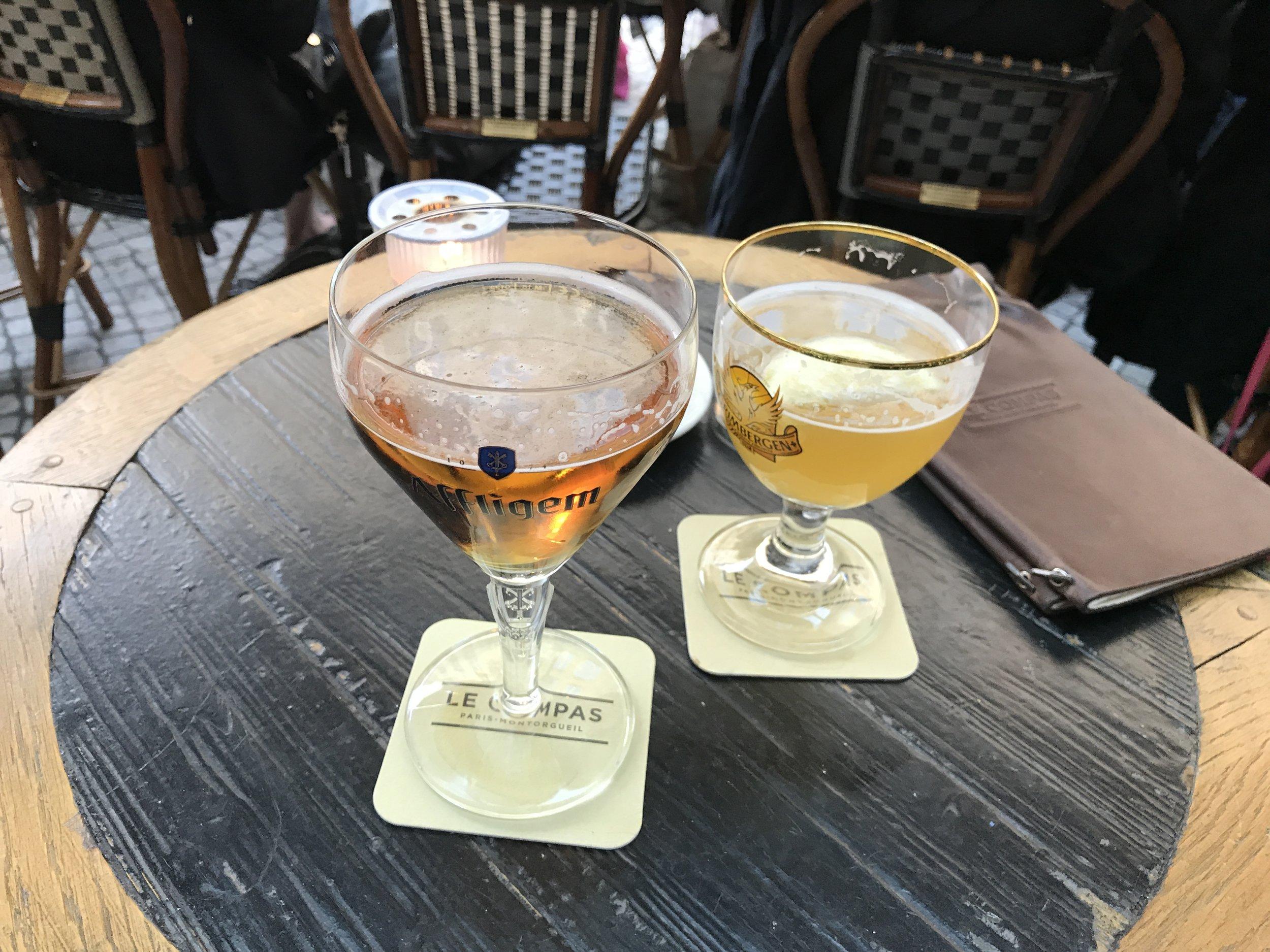 beers- both tasty!