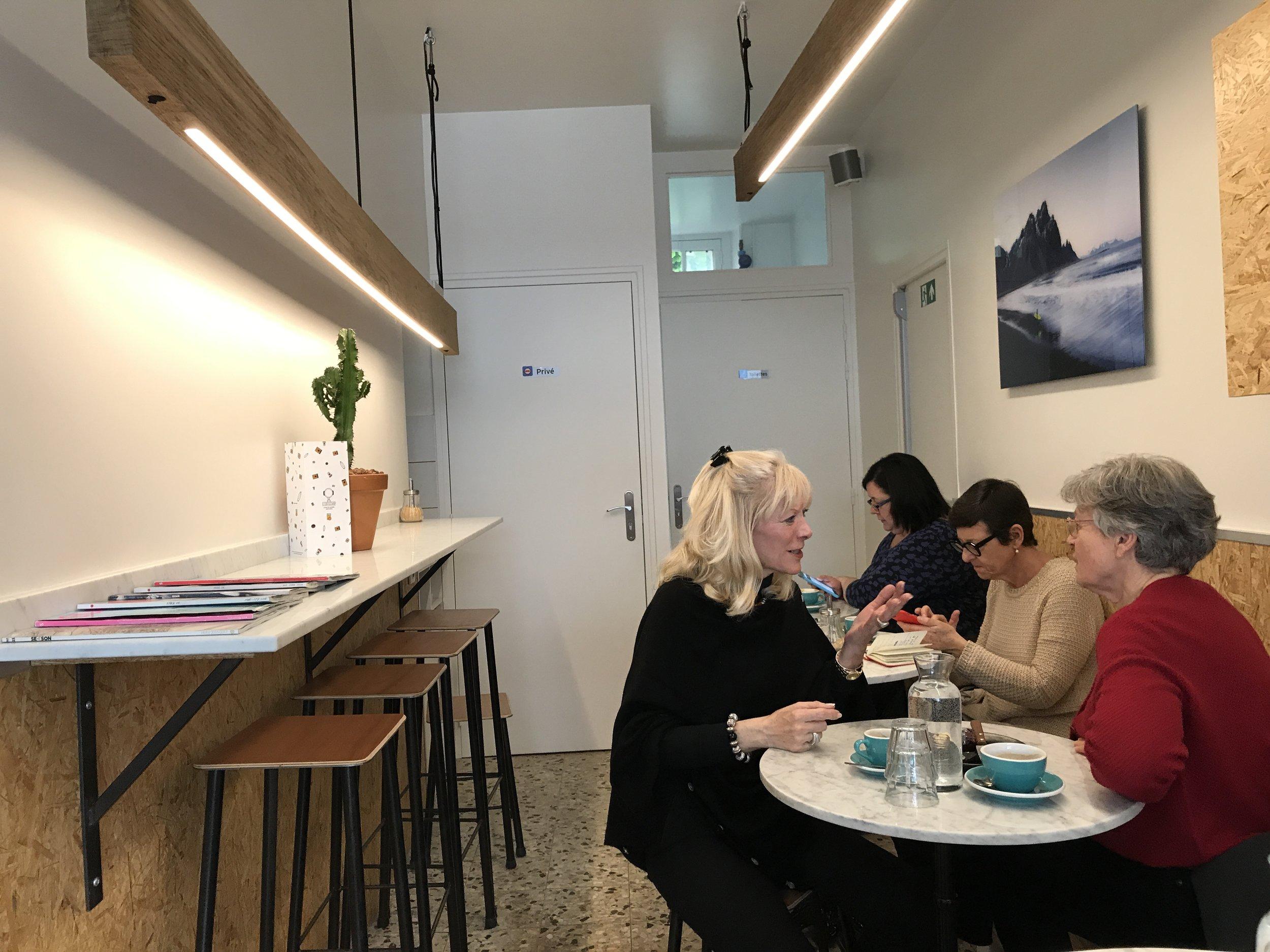 O Coffeeshop interior