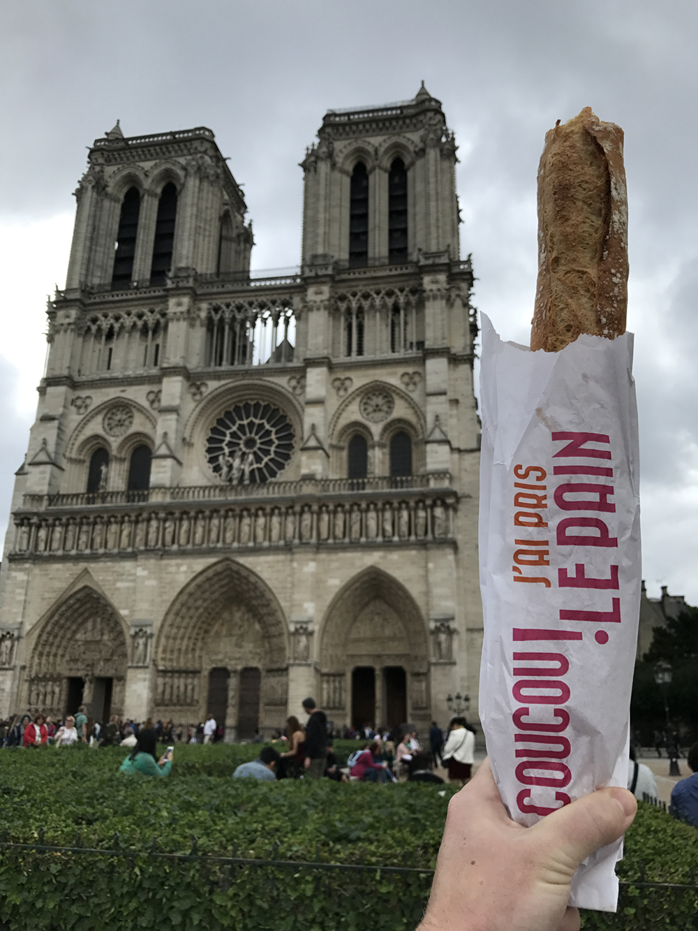 the event was beside Notre Dame