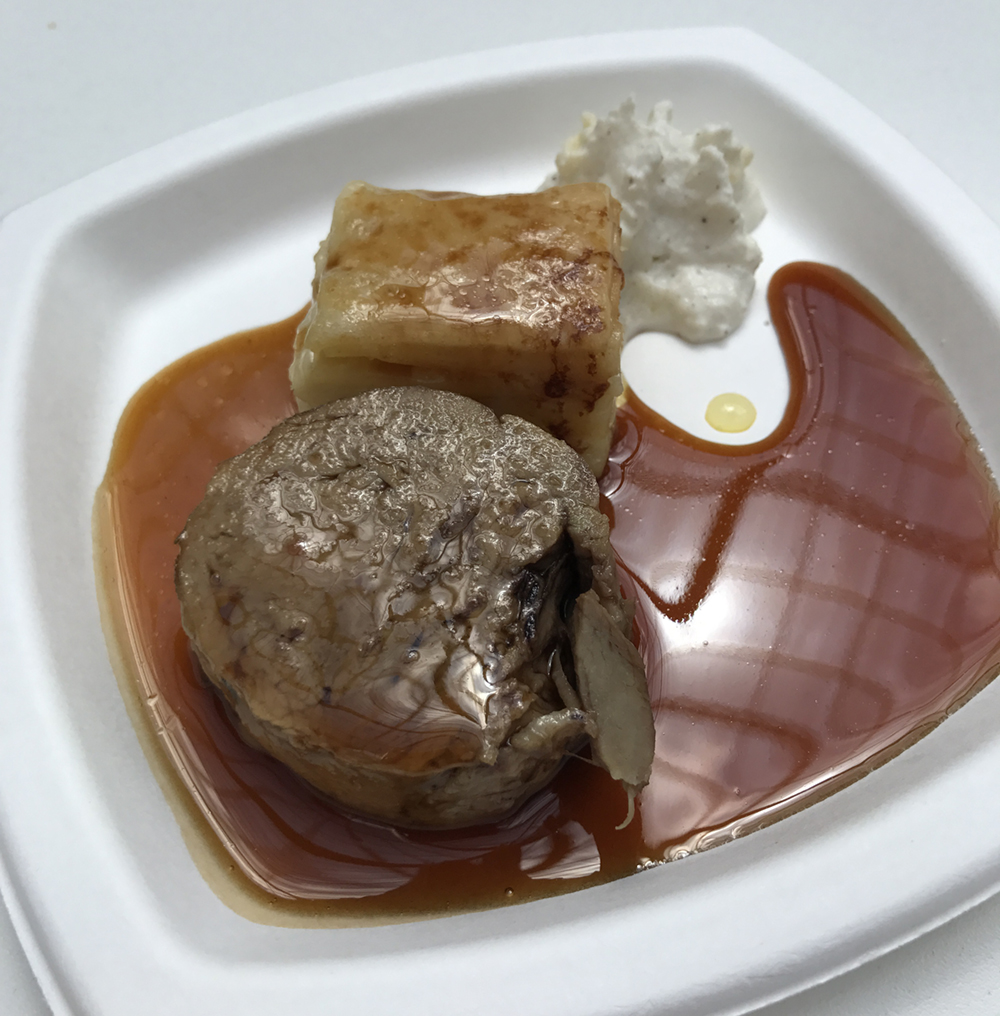 The Mandarin Oriental Paris  Chef Theirry Marx  Confit Veal Shank, macaroni au gratin and truffle emulsion