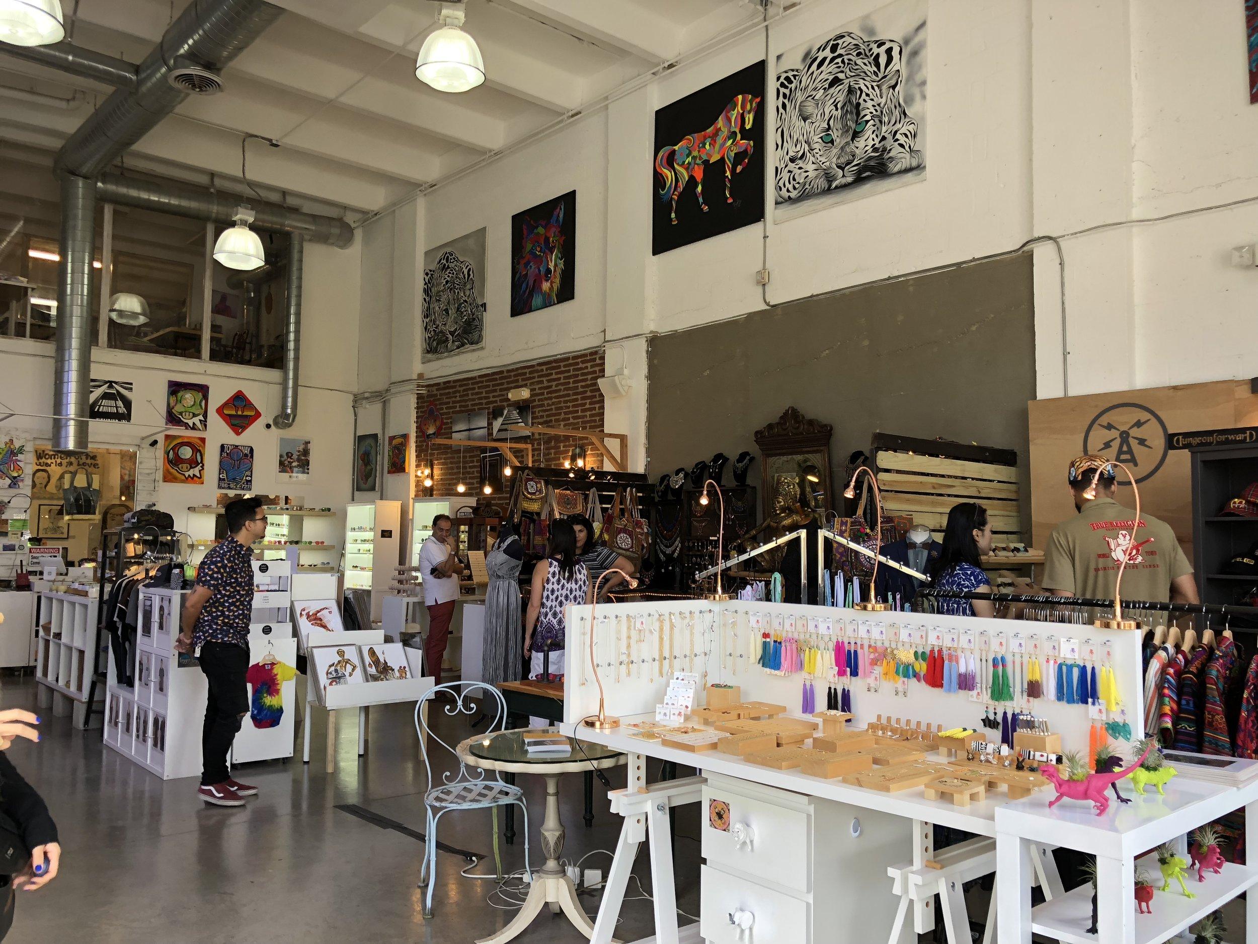 Artisan market in Wynwood