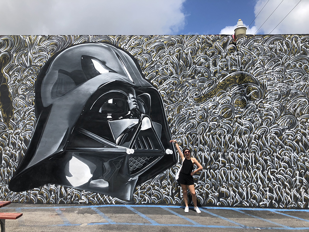 We were in Miami for May 4, Star Wars day, and what better way to commemorate it