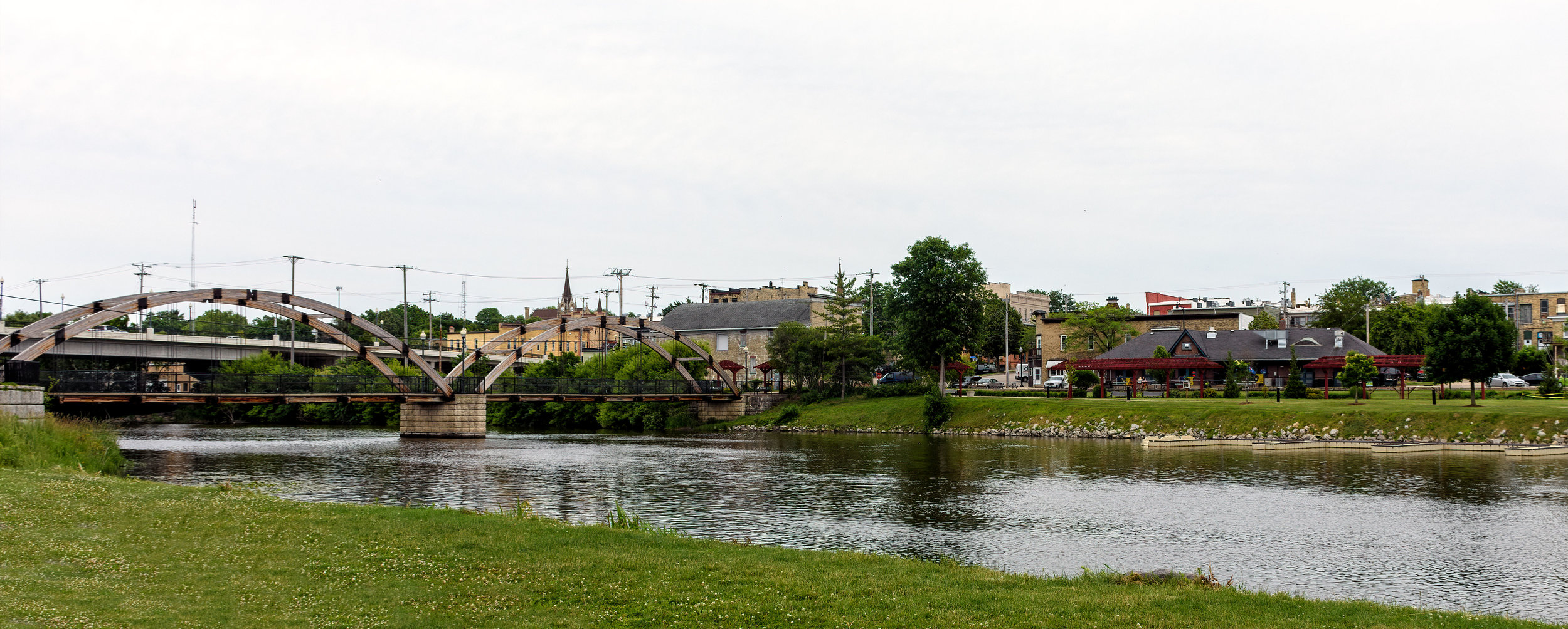 Rock River Looking East