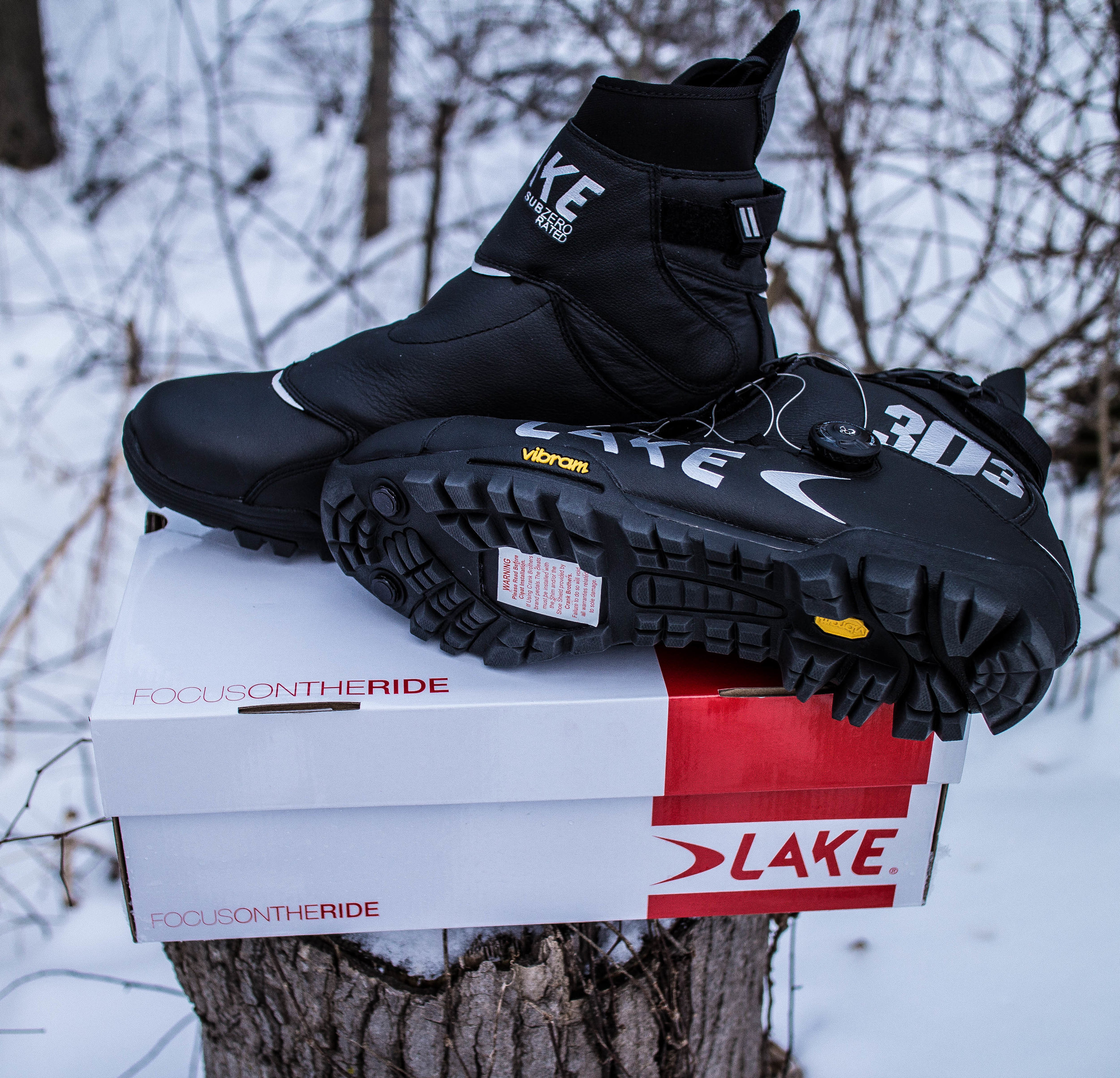 Clipless Compatible Winter Boot