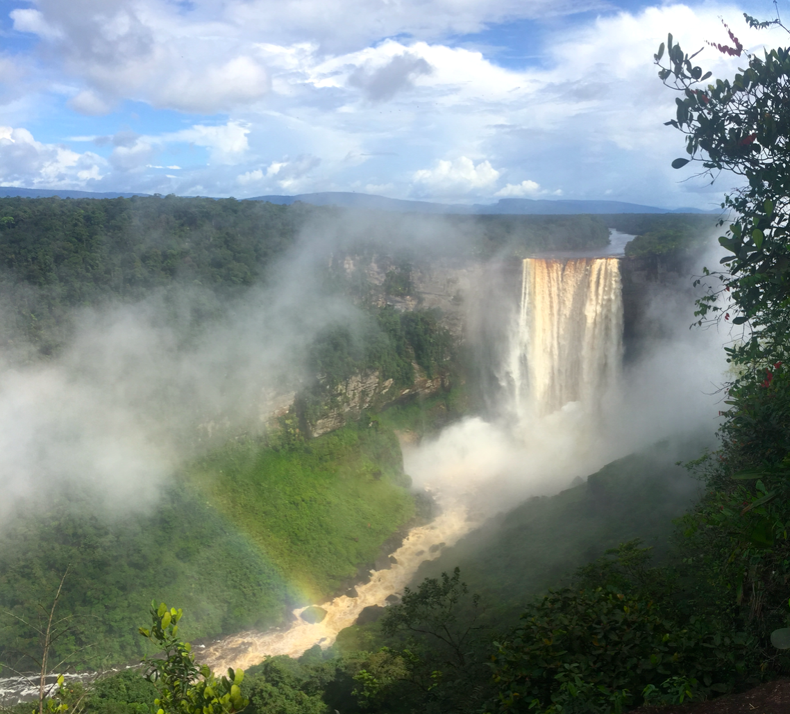 Kaieteur Falls is the world's widest single drop waterfall