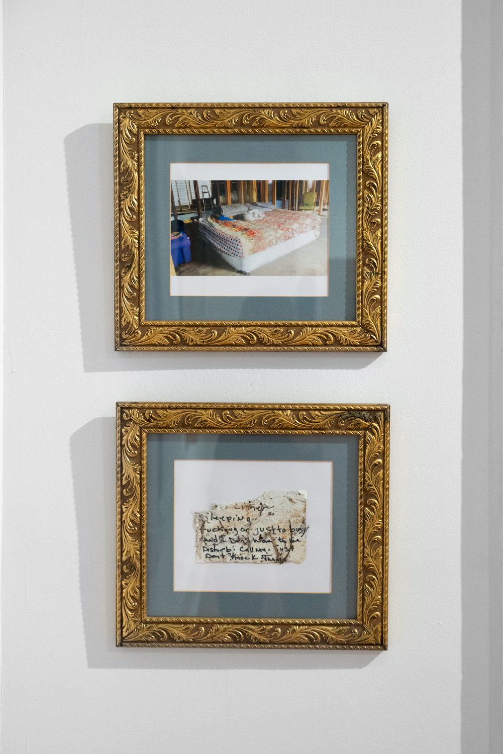 Heidi Hickman, House, 2016; Home, 2016. Framed digital prints.