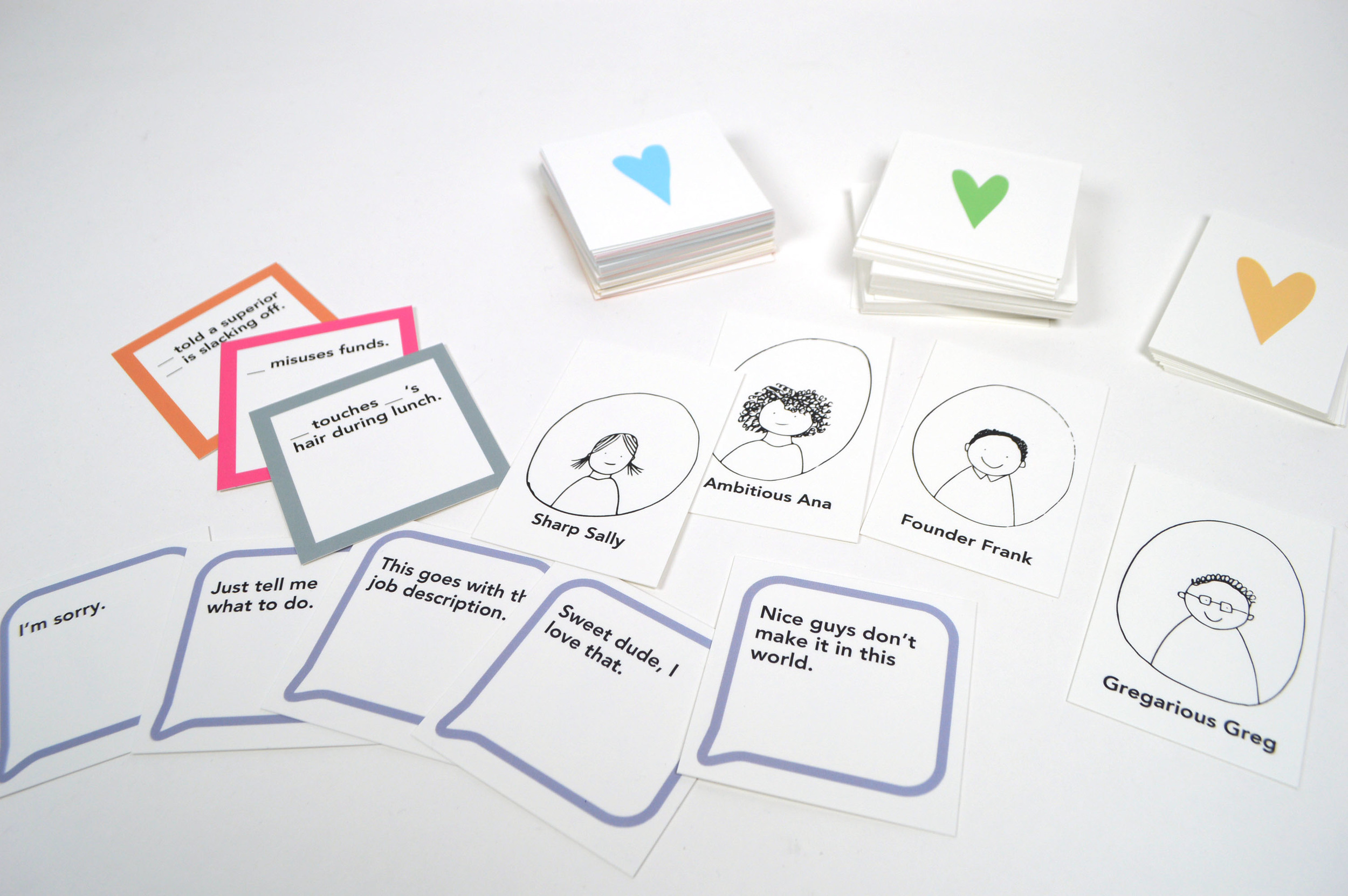 """The """"Talk Human to Me"""" card game diagnoses problem areas in one's workplace culture."""