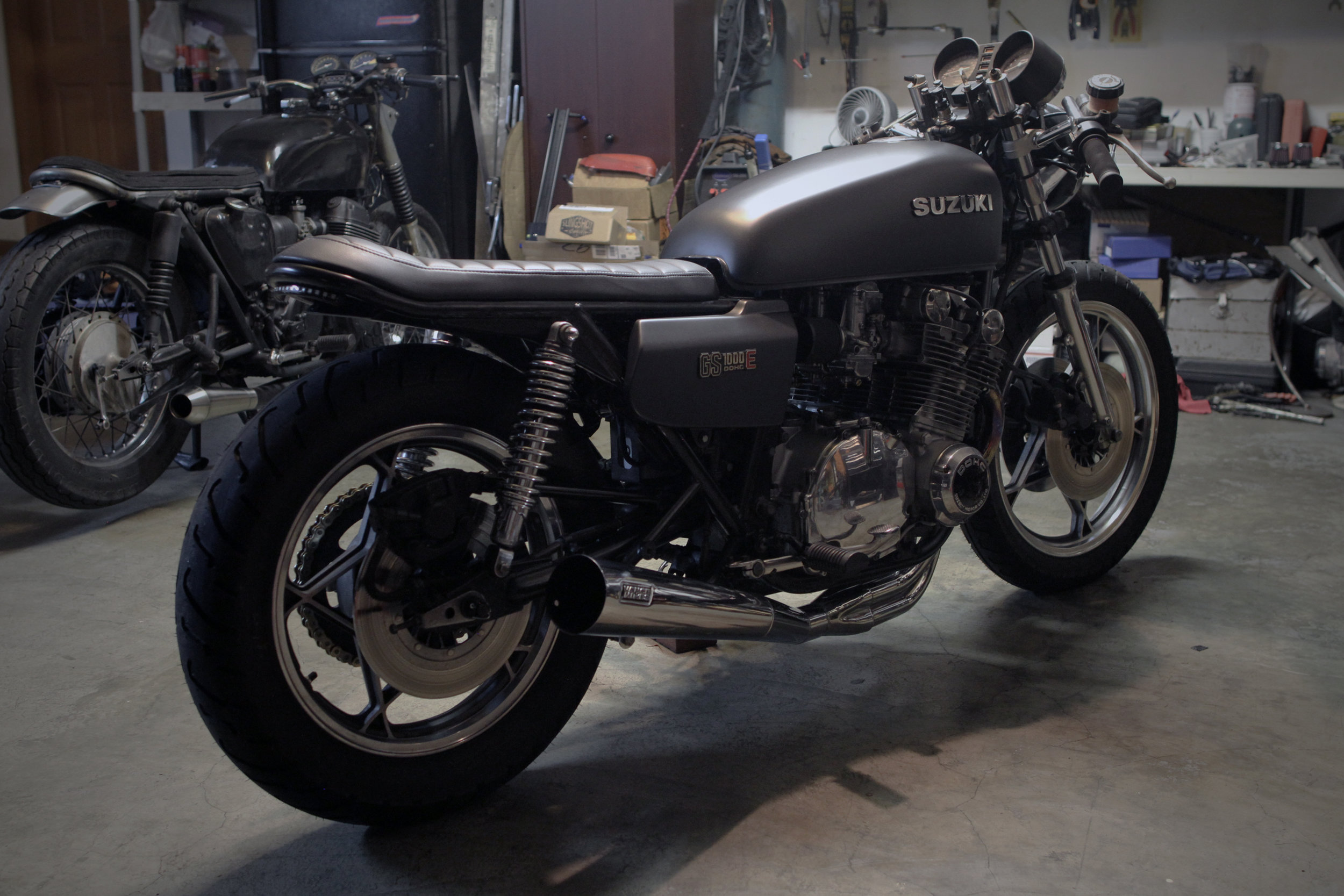 1979 Suzuki GS1000E - Brat Style Cafe Racer